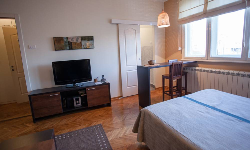 apartment Royal, Dorcol, Belgrade