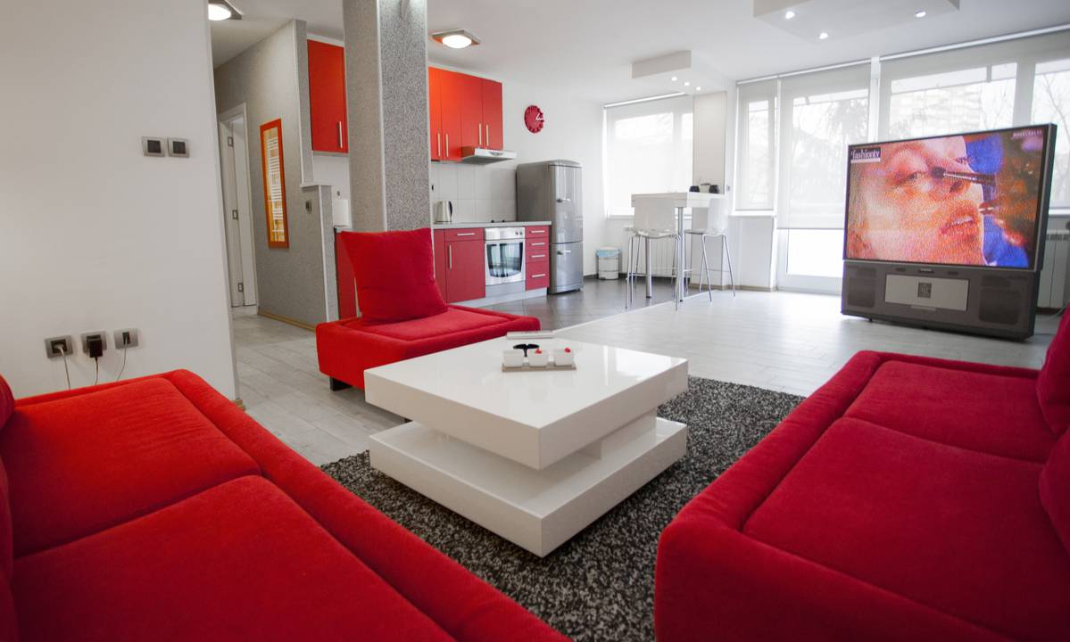 apartment Red, New Belgrade, Belgrade