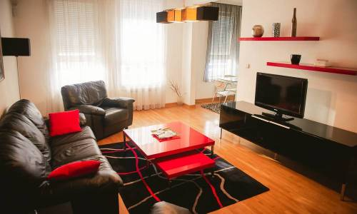 apartment Black & Red, Belgrade