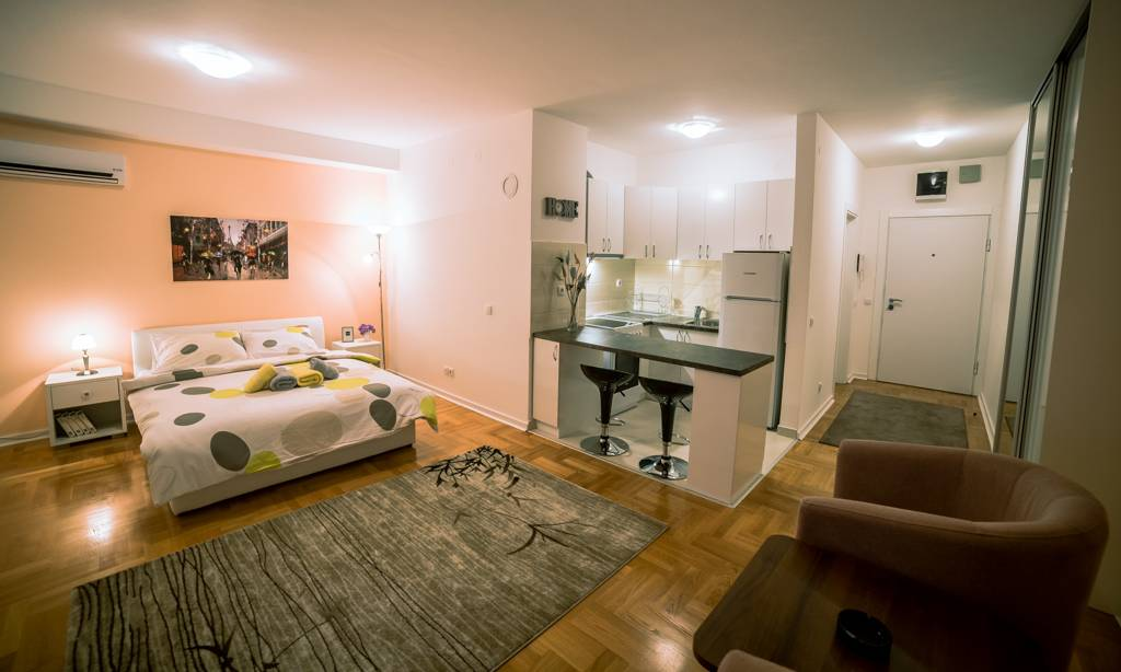 apartment Euro, New Belgrade, Belgrade