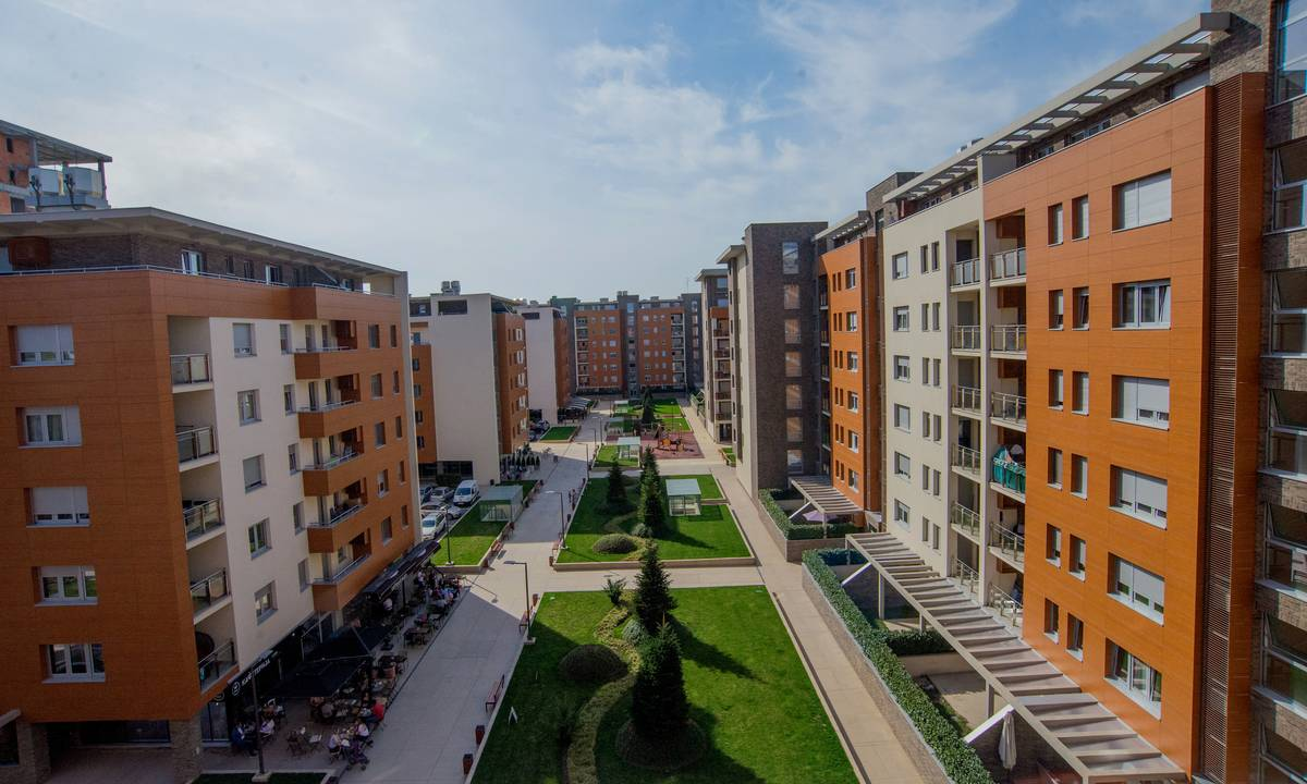 apartment Laganini, A Blok Savada, Belgrade