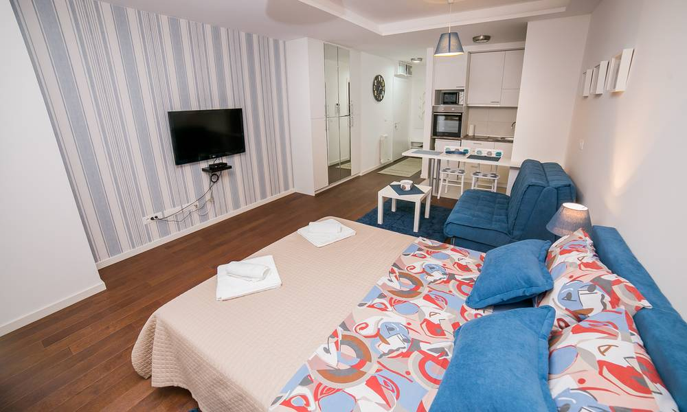 apartment Plavi, A Blok Savada, Belgrade