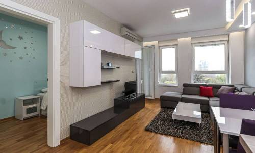 apartment Eukaliptus, A Blok Savada, Belgrade