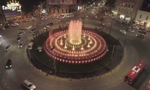 Musical fountain Belgrade