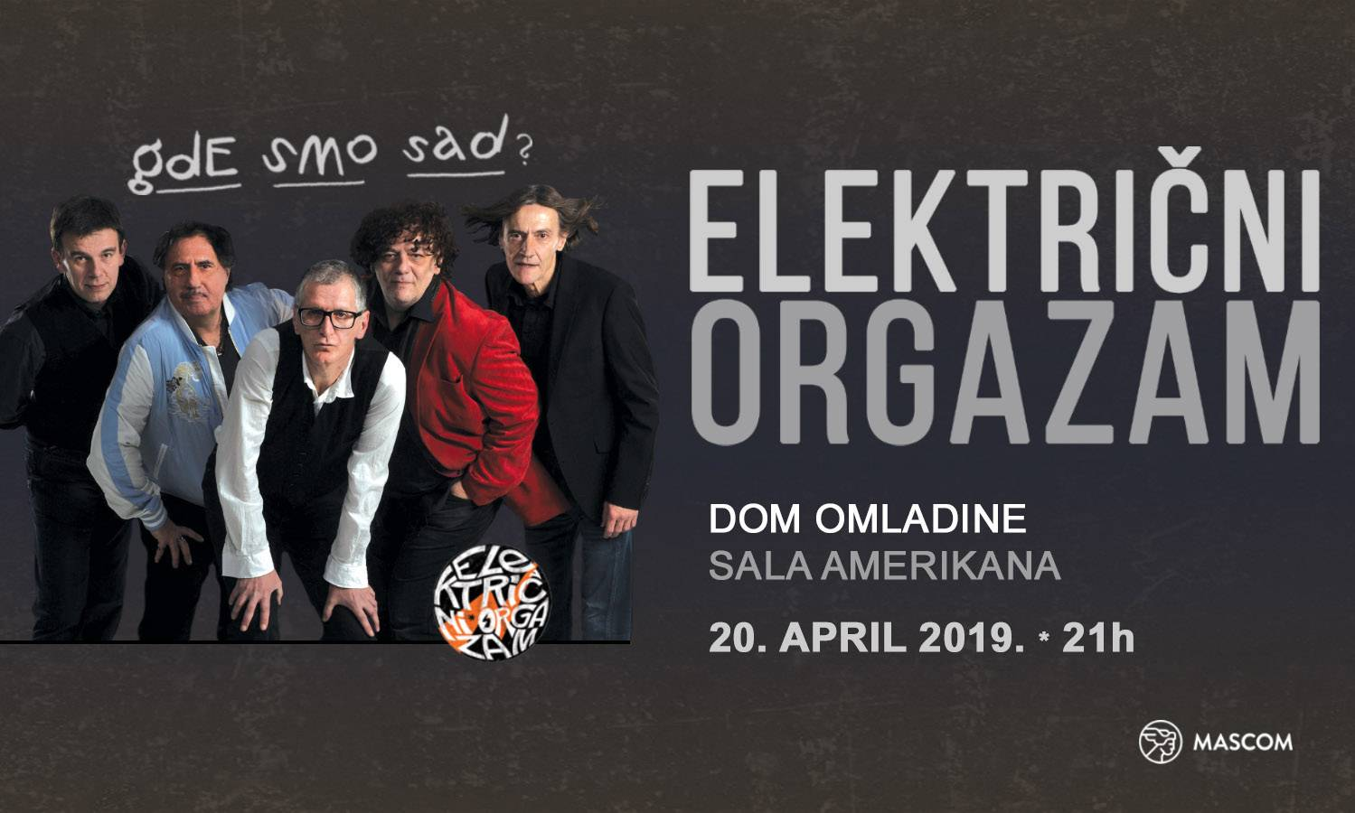 Električni Orgazam band back in Belgrade