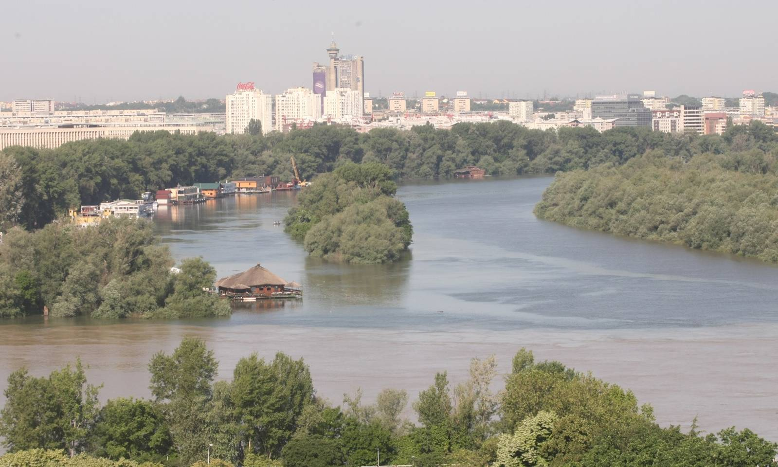 By the beautiful blue Danube, the Belgrade way